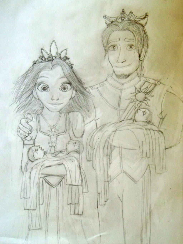Rapunzel and Eugene s ...