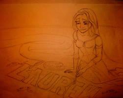Commission: Rapunzel Painting by x12Rapunzelx