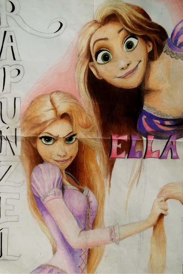 Rapunzel for Ella by x12Rapunzelx