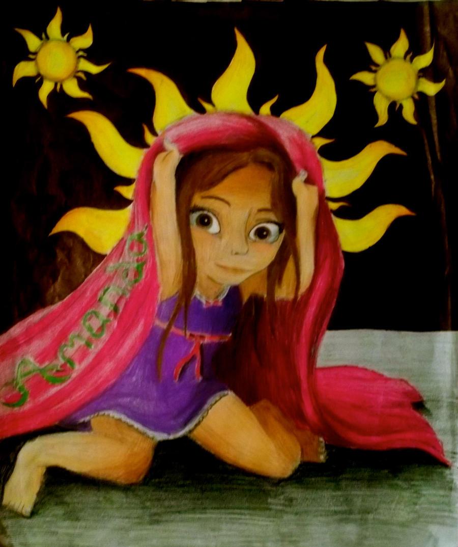 Amanda Marie Fitzherbert ( Age 5 ) by x12Rapunzelx