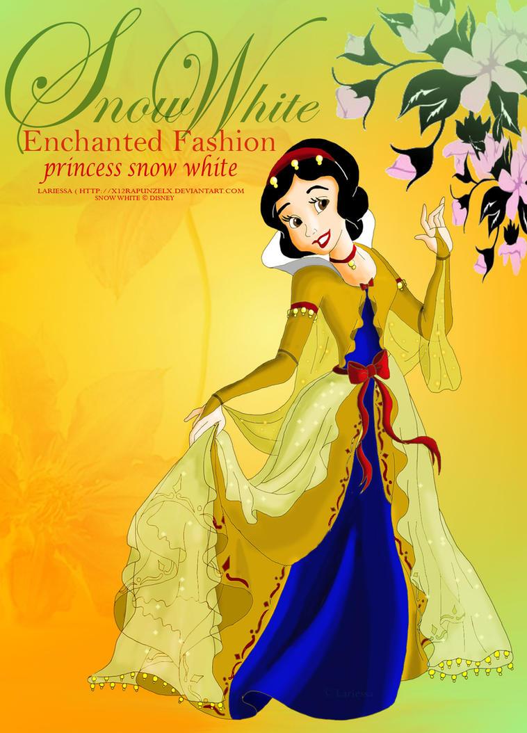 Enchanted Fashion- Snow White by x12Rapunzelx