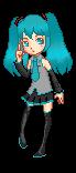 Hatsune Miku by now-in-technicolor