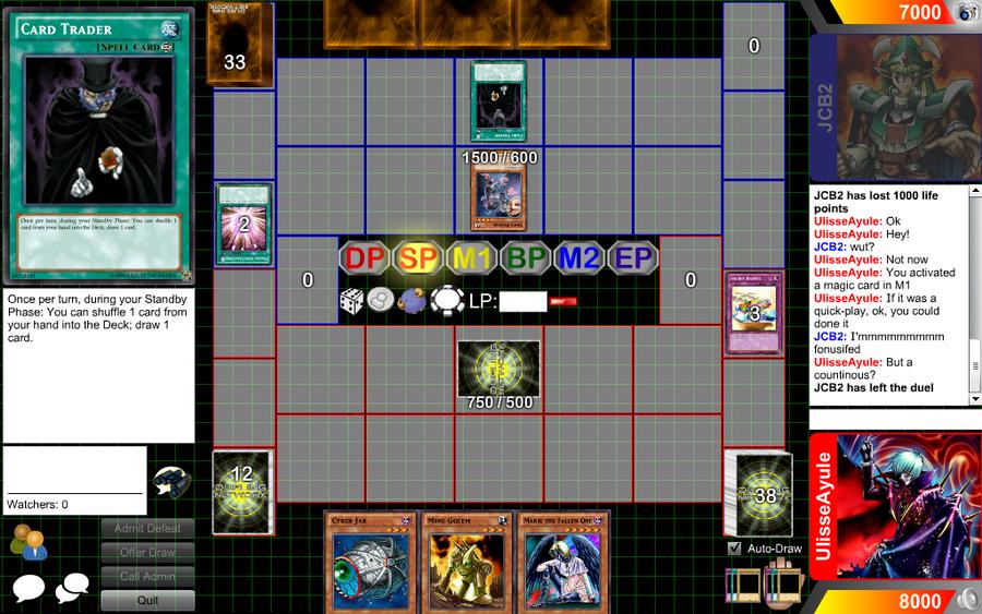 Card Trader Cheating by RayquazaGaby