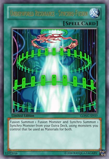 Underworld Resonance - Synchro-Fusion by RayquazaGaby