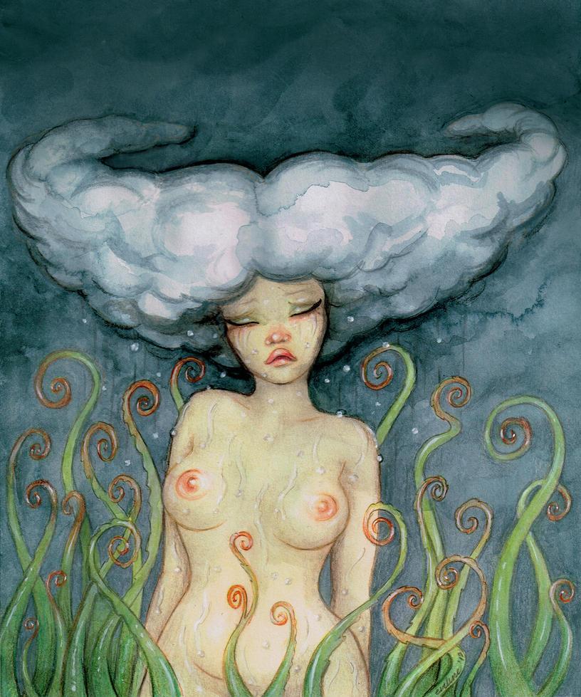september rain by EvilineMoonflesh