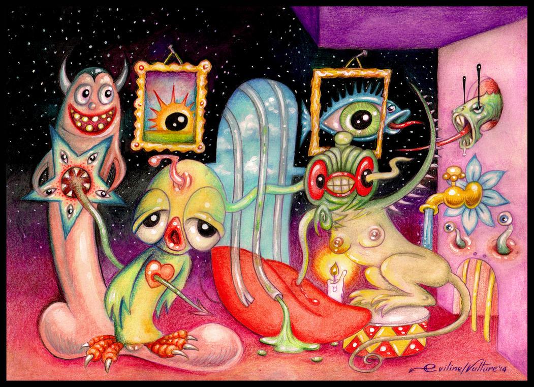 Lysergic Lullabies by EvilineMoonflesh