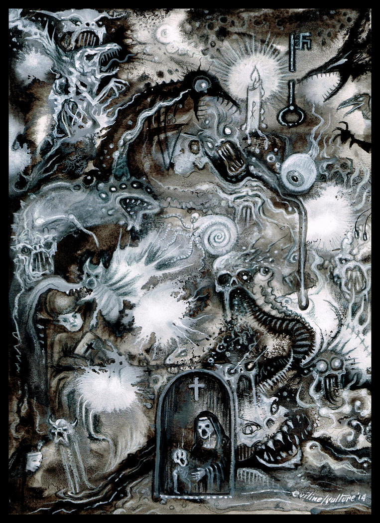 Demonic Intervention  by EvilineMoonflesh
