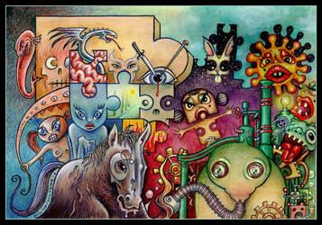 Lysergic Engines by EvilineMoonflesh