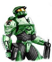A Spartan Hero by SpartanB214