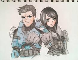 Boss and Maya