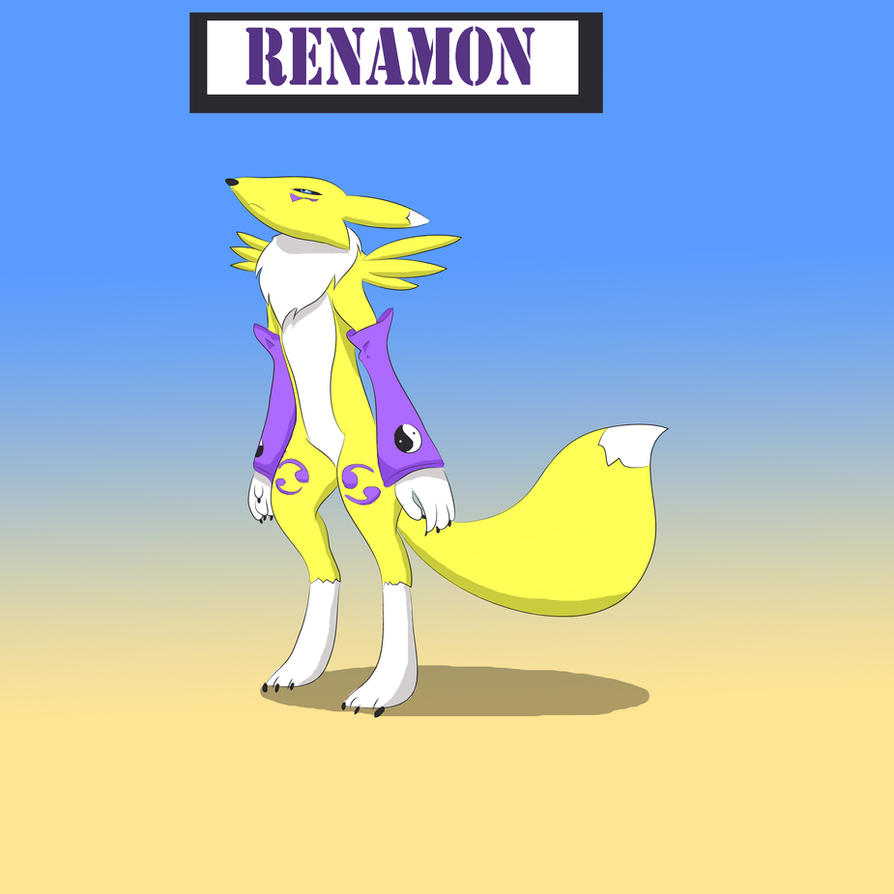 Renamon by Louisetheanimator