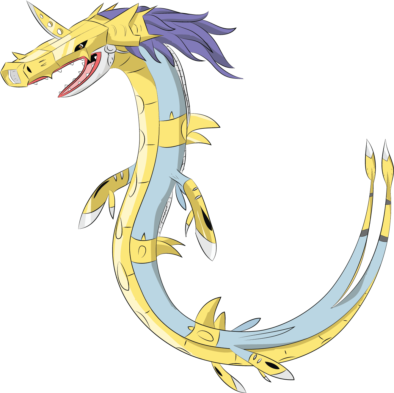 Metalseadramon by Louisetheanimator