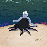 Ursula the Sea Witch by Louisetheanimator