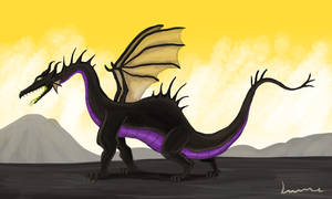 Maleficent in Dragon Form