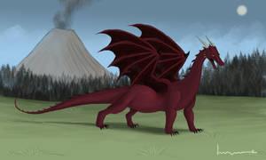 Western Dragon by Louisetheanimator