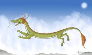 Chinese Dragon by Louisetheanimator