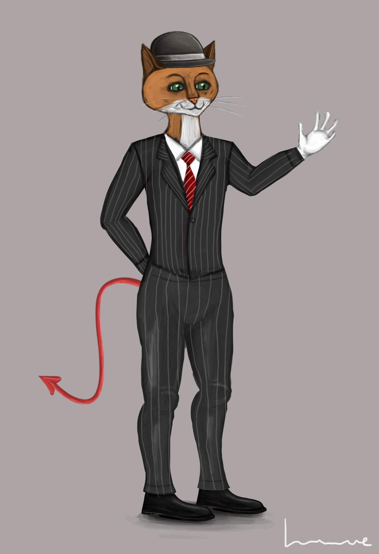 Mr Pelpel by Louisetheanimator
