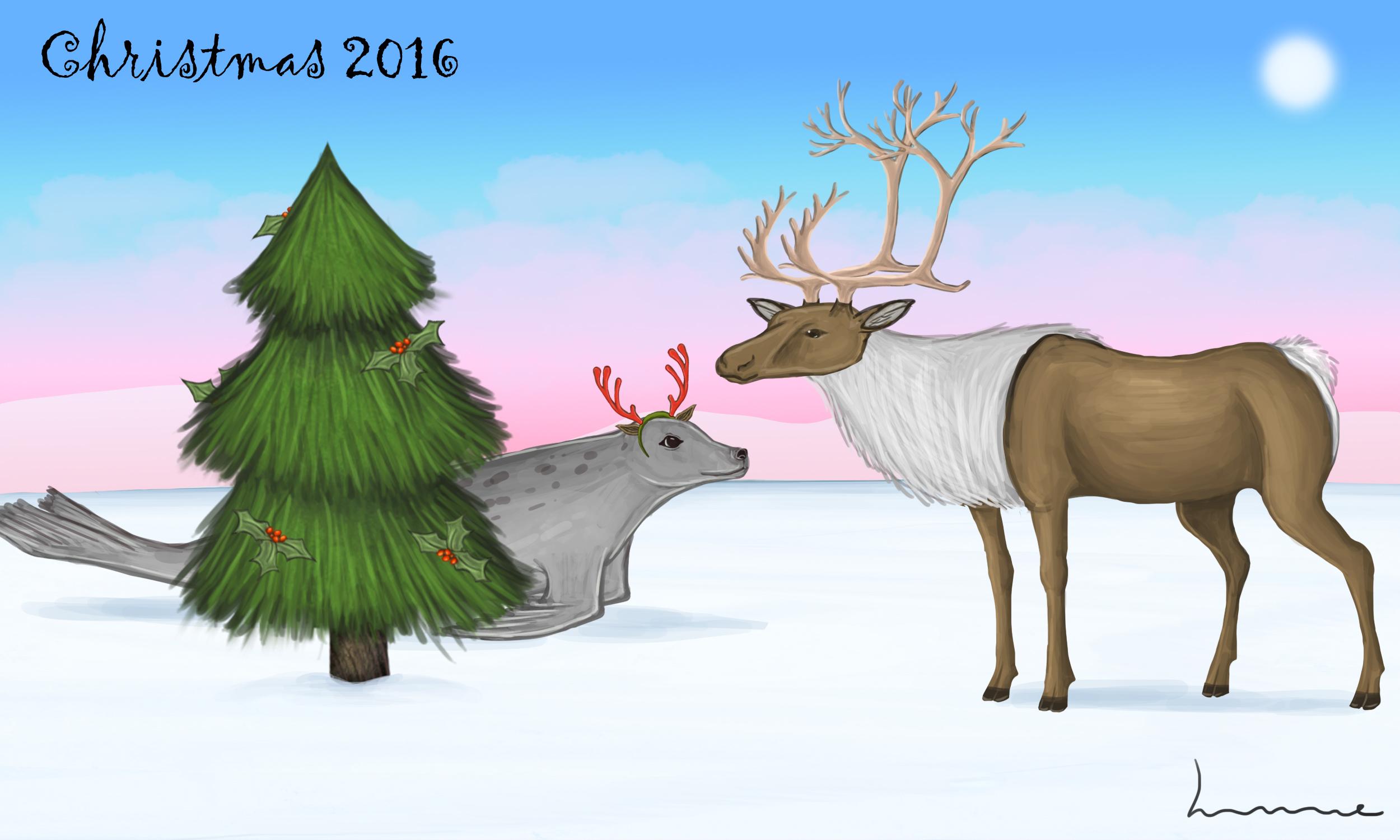 Christmas 2016 by Louisetheanimator