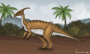Parasaurolophus by Louisetheanimator