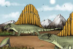Dimetrodon 2 by Louisetheanimator