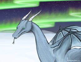 Ice Dragon 2 by Louisetheanimator