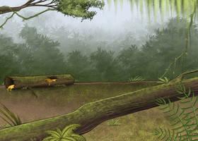 Jungle Scenery by Louisetheanimator