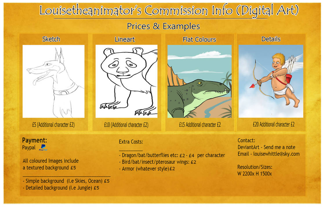 Commission Info Digital Art (Updated)