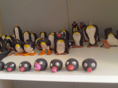 Pingu Animation Models