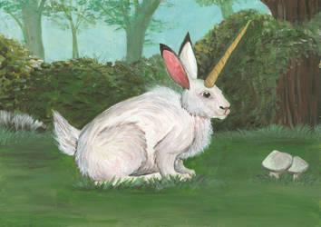Unicorn-Rabbit by Louisetheanimator