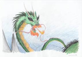 Dragon - The Last Unicorn by Louisetheanimator