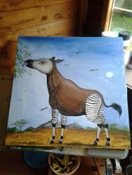 Okapi by Louisetheanimator