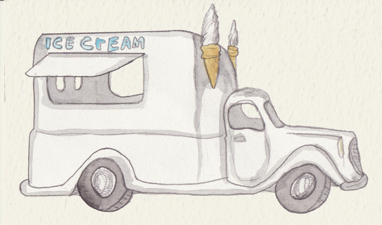 Ice Cream Van by Louisetheanimator