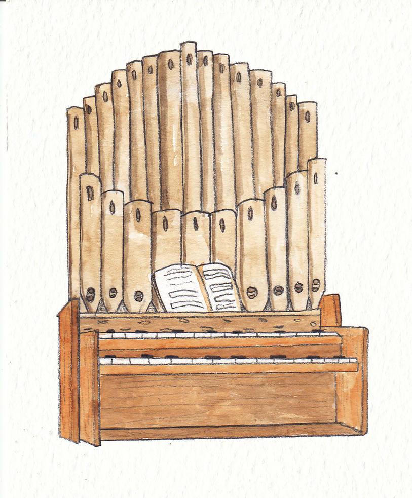 Organ by Louisetheanimator