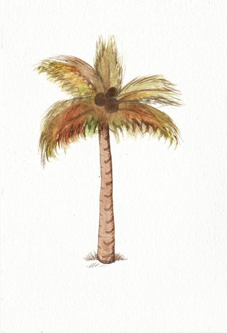 Palm Tree by Louisetheanimator