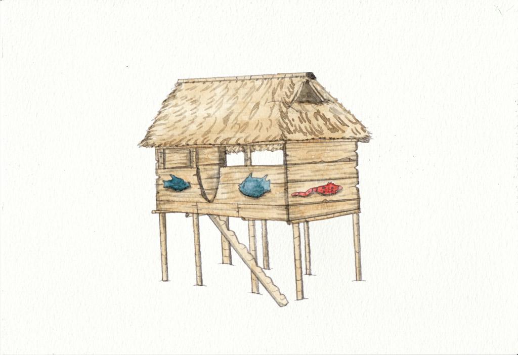 Pile Dwelling by Louisetheanimator