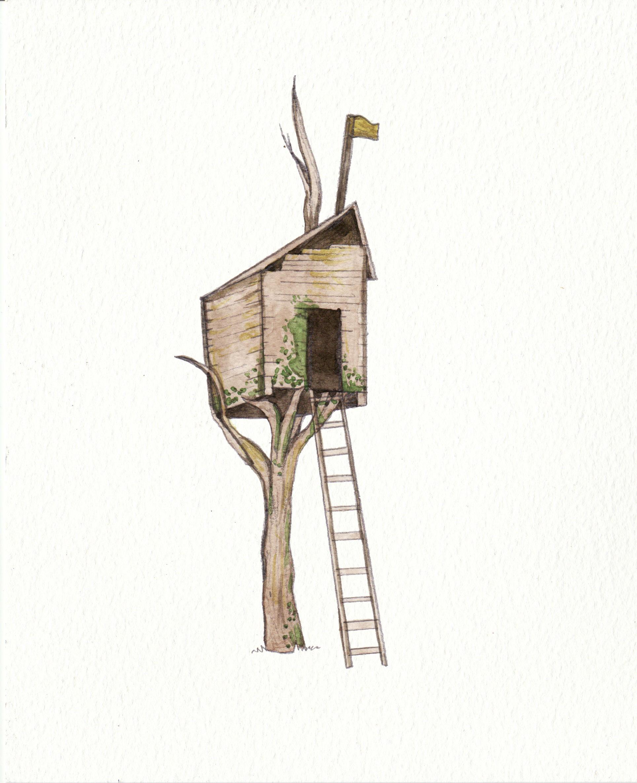Treehouse by Louisetheanimator