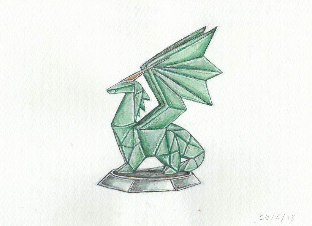 Crystal Dragon - Spyro by Louisetheanimator