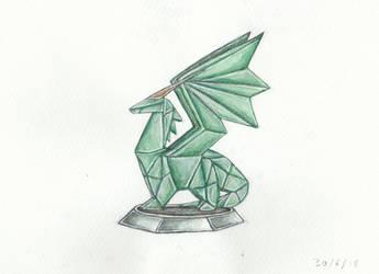 Crystal Dragon - Spyro by Louisetheanimator