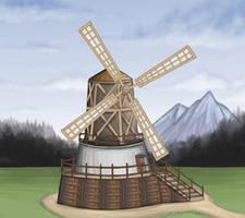 Windmill by Louisetheanimator