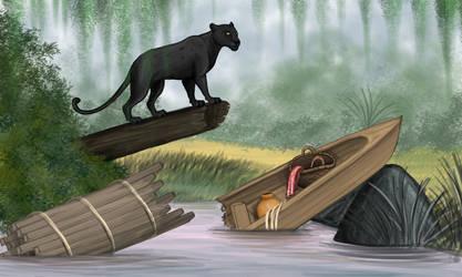 Bagheera - The Jungle Book by Louisetheanimator