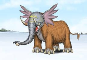 Mammothmon by Louisetheanimator