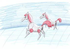 Dexter's Robot Ponies by Louisetheanimator