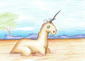 Sand Unicorn - Ed, Edd n' Eddy by Louisetheanimator