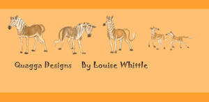 Quagga Characters Design by Louisetheanimator