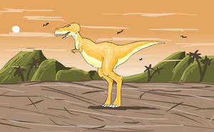 T.Rex 2 by Louisetheanimator