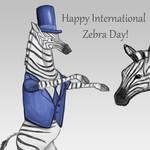 Happy International Zebra Day!