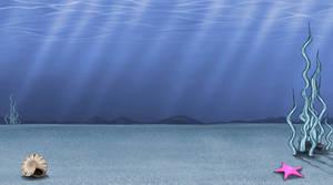Underwater Bottom with Shells