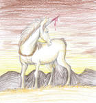Jewel the Unicorn by Louisetheanimator