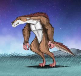 Mega Wolf by Louisetheanimator