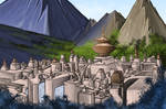 The Lost City of Opar by Louisetheanimator